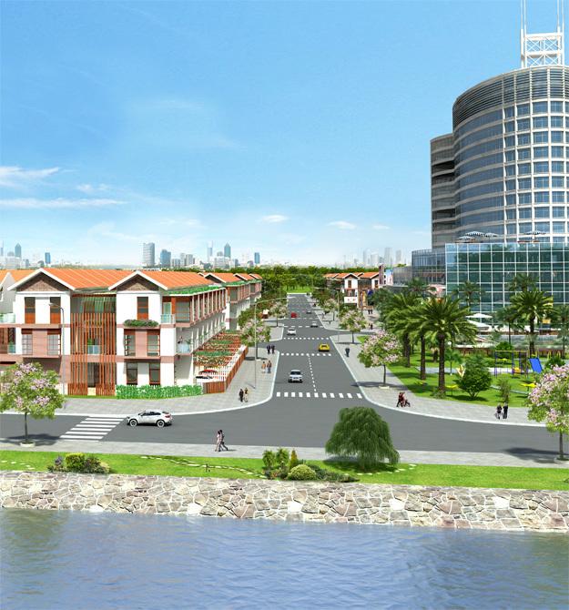 Khu dự án dân cư An Phú Center hiện đại bật nhất